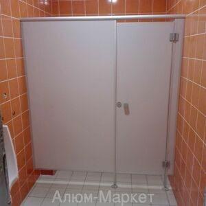 Сантехнические перегородки с дверью для туалетов